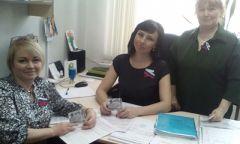 Акция «Крым – Россия: мы вместе » в Кезской библиотеке