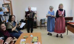 Встреча членов Воткинской и Шарканской организаций ВОС в районной библиотеке