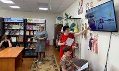 Экологический урок «Чернобыльская трагедия» в Сюмсинской библиотеке