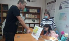 Трудоустройство подростков в Дебёсской библиотеке