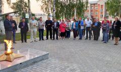 День памяти и скорби в Алнашской районной библиотеке