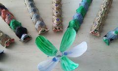 Экологический конкурс «Из мусорной кучки классные штучки» в Лесагуртской библиотеке