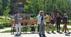 Открытый микрофон «Пушкин на все времена» на улицах Яра