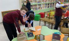 Библиотечный урок-тренинг в Ярской детской библиотеке