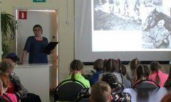 Мероприятия в День памяти искорби вСелтинской районной библиотеке