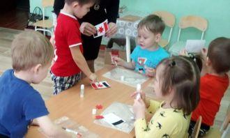 Очередное занятие клуба «Солнечный зайчик» при Детской библиотеке