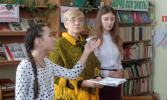 Творческие встречи с сарапульской поэтессой Светланой Щёголевой в Киясовском районе