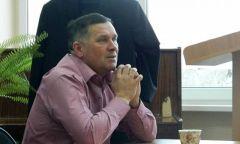 Встреча с тренером В. Е. Трошкиным в клубе «Без пиджака»