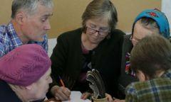 Состязание по стихосложению в Удмурт-Ключевской библиотеке