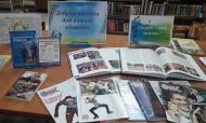 Книжная выставка, посвященная ЗОЖ вДебесской библиотеке