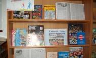 Выставка ко Дню физкультурника врайонной библиотеке