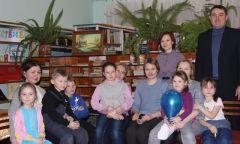 Первая встреча в клубе «Мама в теме» прирайонной библиотеке