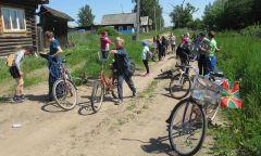 Велопробег «Подорогам Гражданской…» вокрестностях Пазяла