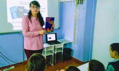 Урок «По лабиринтам права» для чеканских школьников