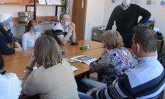 Встреча «Разговор с врачом» в Шарканской библиотеке