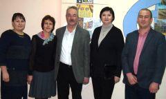 Встреча с Татьяной Владимировной Тенсиной вИльдибаевской библиотеке