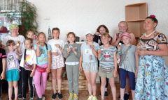Сводный отряд «Вуюись» при Байтеряковской сельской библиотеке