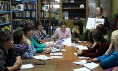 Выездной методический семинар вБольшеолыпской библиотеке