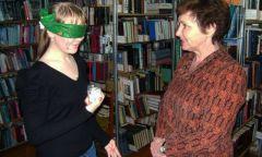 Квест-игра «В темноте» в ЦГБ им. Н. С. Байтерякова