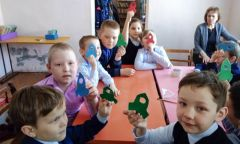 Урок истории «Человек шагает в космос» вНылгинской детской библиотеке
