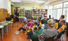 Литературный час «Добрый сказочник Сутеев» в Красногорской Детской библиотеке