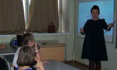 Беседа об этикете с дебесскими школьниками