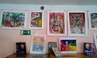 Выставка рисунков «Чайковский глазами детей» в районной библиотеке