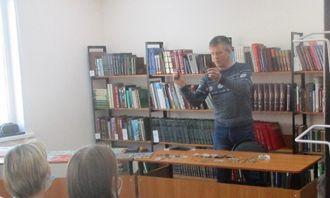 Экспедиция памяти «Шарканский район – мои открытия» в Шарканской библиотеке
