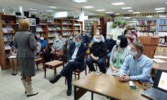 Мероприятие «Прикоснись ко мне добротой» вДебёсской библиотеке