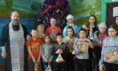 Занятие в православном клубе «Зернышко» вЯгульской библиотеке