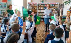 Праздник «Прощание с Букварем» вНылгинской детской библиотеке