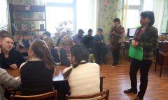 Информационный час «День трезвости» вЮжном филиале