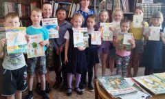 Беседа к 35-летию журнала «Кизили» вИгринской детской библиотеке