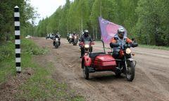 Участники мотопробега «Государева дорога: легенда Сибирского тракта» – в Селтинском районе