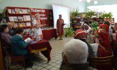 Встреча с самодеятельными поэтами наплощадке этнофестиваля