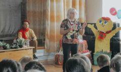 Площадка Литературного фестиваля «Народине Чайковского» в поселке Яр