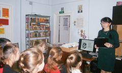 Литературное крылечко «Свидание сталантом» в Чеканской сельской библиотеке
