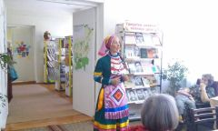 Литературная гостиная «Таланты родного края», в рамках Дней литературы Можгинского района вУдмуртской республике