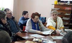 Встреча в клубе пчеловодов при Балезинской библиотеке