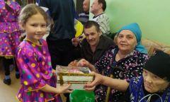 Выездное мероприятие в Малягуртском доме для престарелых и инвалидов