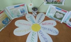 Акция Нижнепыхтинской библиотеки к дню семьи, любви и верности