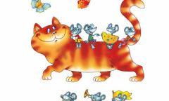 Кукольный онлайн-спектакль «Кот наоборот» в Юкаменской библиотеке