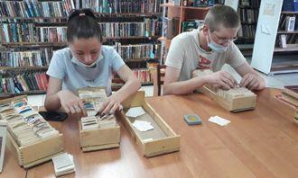 Трудоустройство подростков в Дебёсской библиотеке продолжается
